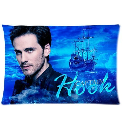 Colin O'Donoghue Once Upon A Time Captain Hook Custom Cotton