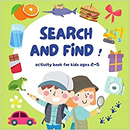 Search and Find : Activity book for kids Toddler and Preschool 2