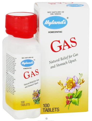 Hyland's Homeopathic Combinations Gas 100 tablets Digestion - Single Item