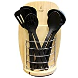 Gibson Home Scranton 14-Piece Stainless Steel Cutlery and Tool Combo Set with Wood Block D970-111945.14
