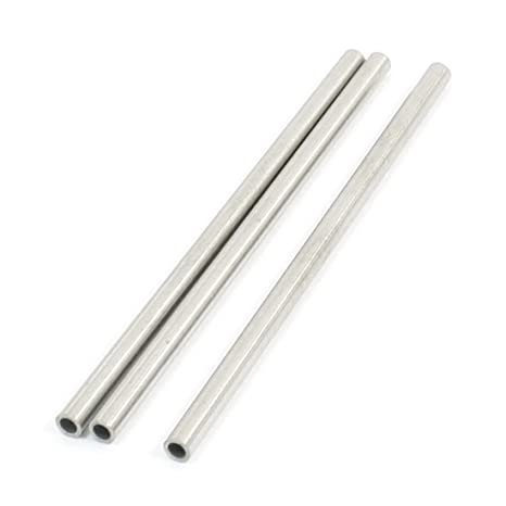 Amazon.com: uxcell 3Pcs Transmission Stainless Steel Welded ...