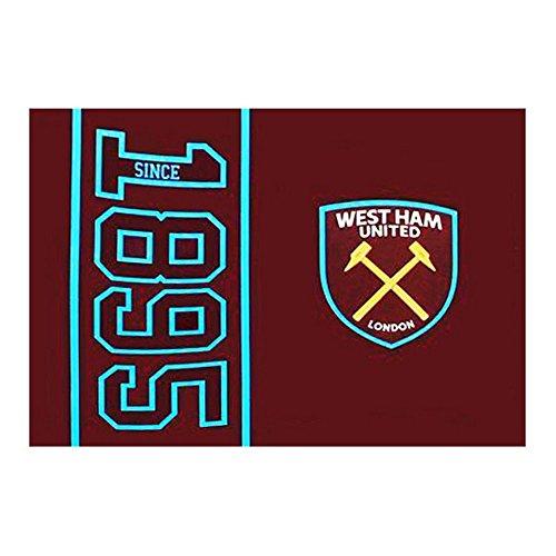 West Ham Since 1895 Flag (152 x 91cm) - One (West Ham United Football Club)