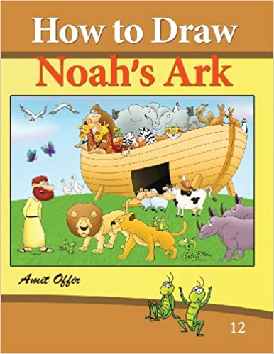 Noahs Ark Art Drawing Step By