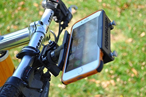 Price comparison product image Readyaction Sport -Bike handle bar, Ski pole, Roll cage Mount for Smartphones and Cameras
