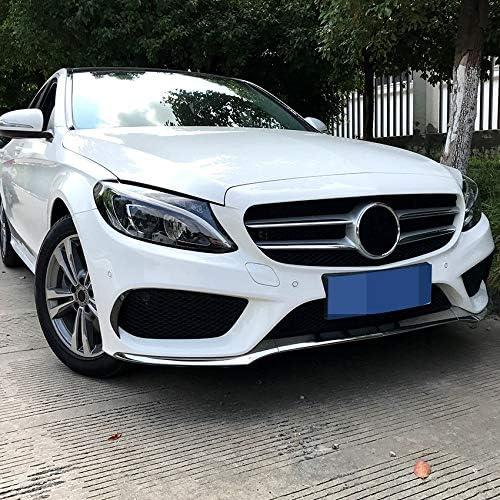 Naliovker Frontstoo Stangen Splitter Canard Luft Vent Abdeckung Trim f/ür Mercedes C-Klasse W205 f/ür AMG 2015-2018 Auto Styling
