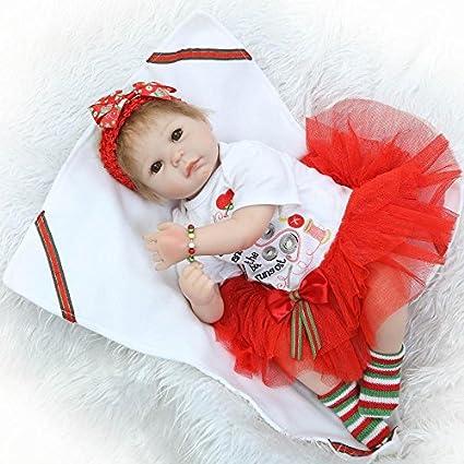 Amazon.com: NPK colección realista muñeca recién nacido niña ...