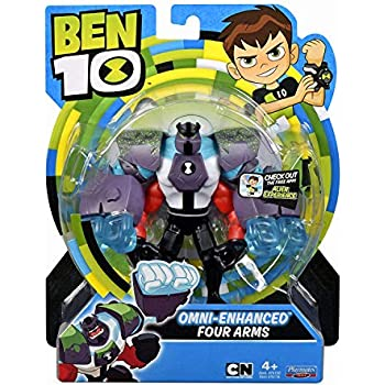 25f35ec991 Amazon.com  Ben 10 Omni-Enhanced Four Arms Action Figure  Toys   Games
