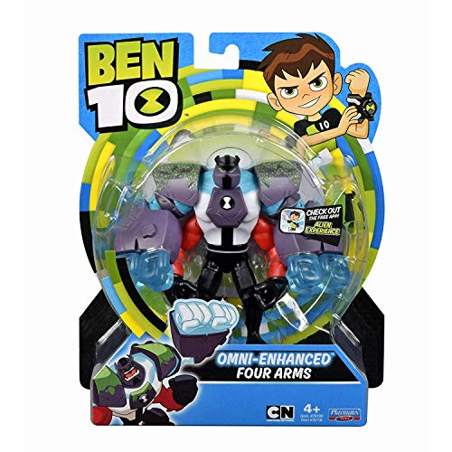 Ben 10 Omni-Enhanced Four Arms Action Figure -