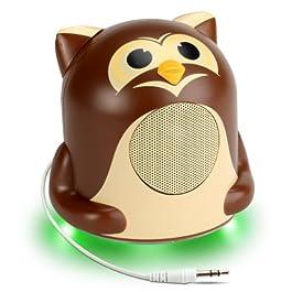Kinder-Lautsprecher verkleidet als Eule
