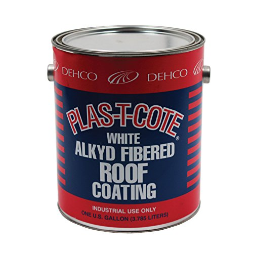 (Heng's 16-45128-4 Alkyd Fibered Roof Coating, White - 1)