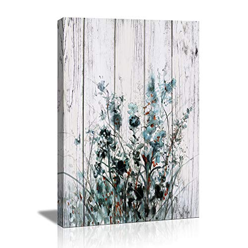 Butterfly orchid Wall Decor for Bedroom Rustic Home Decor Canvas Wall Art