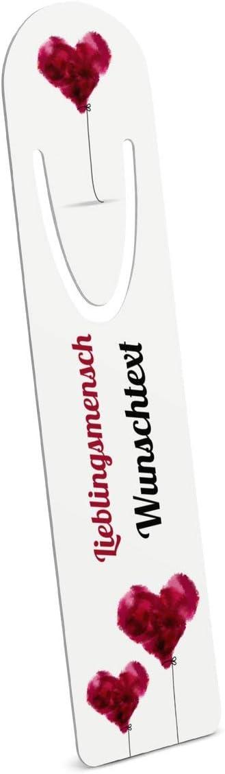 Metall-Lesezeichen mit Namen oder Text bedrucken Motiv: Abenteuer Buchzeichen mit eigenem Text selbst gestalten -Ma/ße: 3,2 cm x 12,7 cm printplanet/®