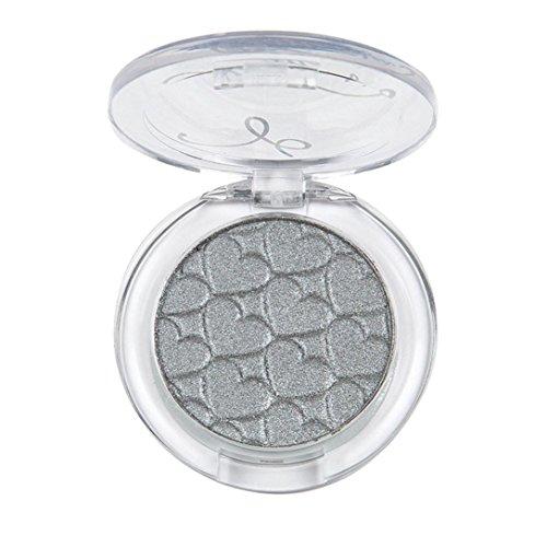 Victorcn HOT Pearl Eyeshadow Beauty Sexy Eyes Makeup Eye Shadow Palette Cosmetics (Silver)