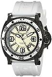 Swiss Legend Men's 11503-BB-02-WHT Typhoon Analog Display Swiss Quartz White Watch
