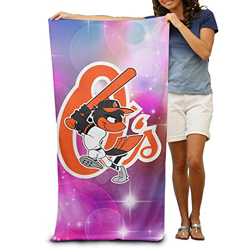 Baltimore Beach Towel Orioles (Amone Baltimore Oriole Adult Beach Or Pool Hooded Towel 3251 Inches)