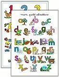 Poster Les lettres de l'alphabet + Poster Les chiffres de 1 à 10