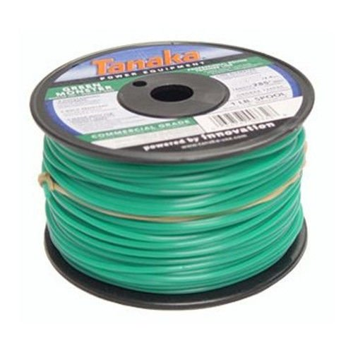 Commercial Spool (Tanaka 746600 0.155 in. x 855 ft. Green Monster Commercial Grade Trimmer Line Spool (3 lb.))