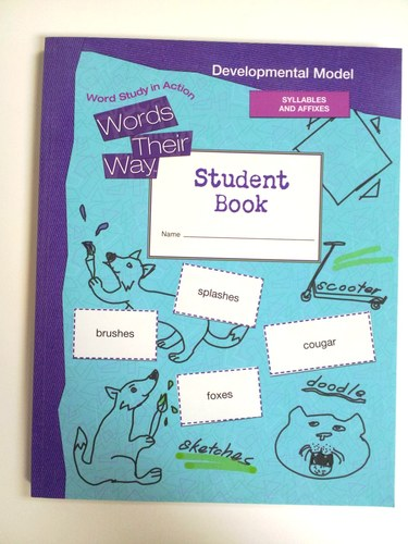 Read Online Words Their Way, Word Study in Action: Developmental Model - Student Book, Syllables and Affixes (Words Their Way) PDF