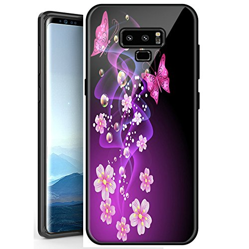 Galaxy Note 9 Case, Starhemei Durable Fashion Floral Print Cover Shock Absorption Full-Body Protect Case Cover Samsung Galaxy Note 9 (9 Shock Absorber)