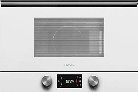 Microondas TEKA ML8220BISL Cristal Blanco 112030000: Amazon ...