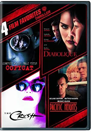 Amazon.com: 4 Film Favorites: Thrillers (Copycat, The Crush ...