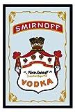 """Smirnoff Vodka - Bar Mirror (Size: 9"""" x 12"""")"""