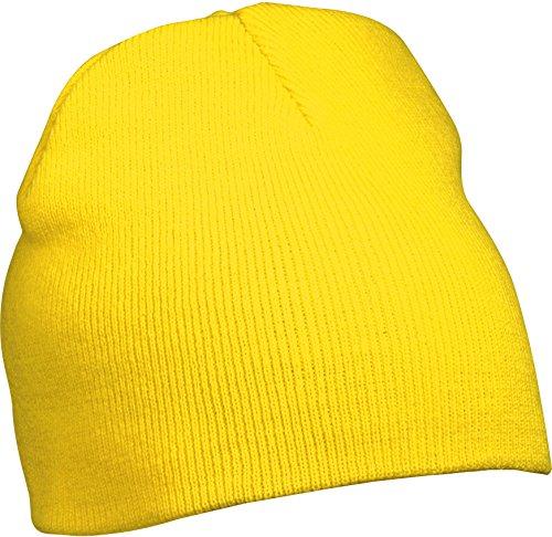 Gorrita Tejida Del Sombrero Del Knit, amarillo amarillo