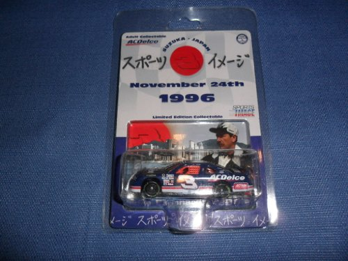 1996 NASCAR Action Racing Collectables . . . Dale Earnhardt AC Delco Suzuka Japan Chevy Monte Carlo 1/64 Diecast . . . Limited Edition