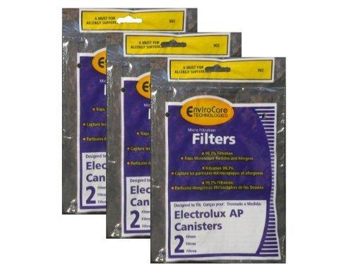 Electrolux, Aerus AP100 Canister Vacuum Hepa Micro electrostatic Filter LE 2100, Diplomat, Ambassador, Epic 6500, Full Kit, 200 350 622 10, 079 (6 ()