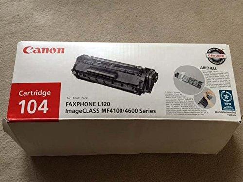 104 Toner, 2000 Page-Yield, Black by Canon