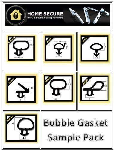 uPVC Gasket Bubble Gasket R6160 Black Rubber Door And Window Seal Gasket
