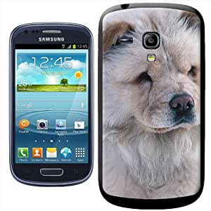 Fancy A Snuggle - Carcasa para Samsung Galaxy S3 Mini i8190, diseño de perro chow chow