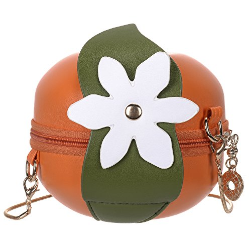 mini tracolla a borsa con tracolla Caramella di QZUnique forma a borsa tracolla a a frutta tracolla xRUa7nw