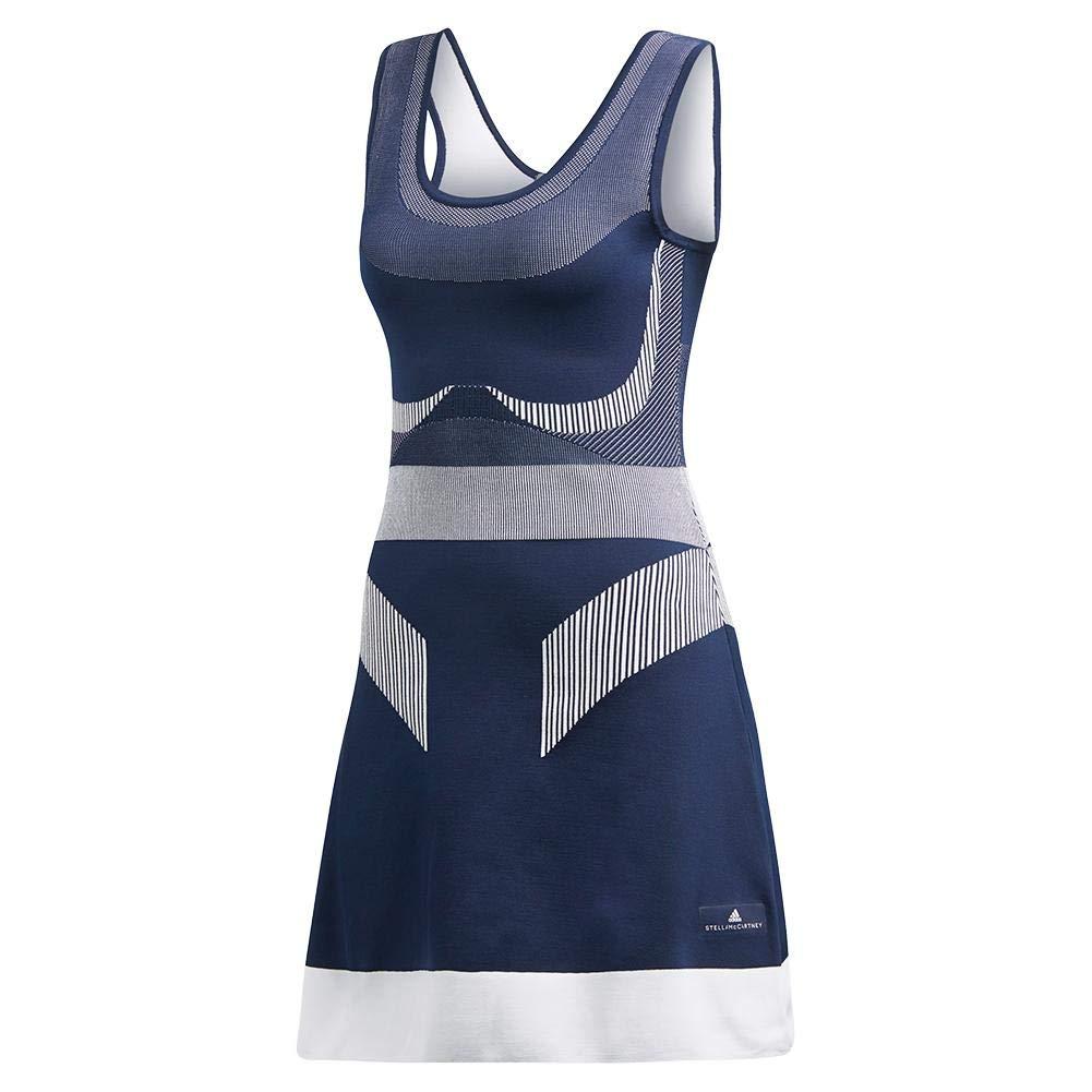 adidas-Women`s Stella McCartney Court Clubhouse Tennis Dress Night Indigo-(19260