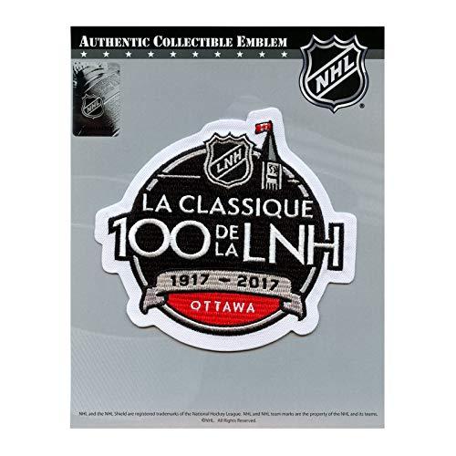 2017 NHL 100th Classic Jersey Patch Ottawa Senators Montreal Canadiens French Version