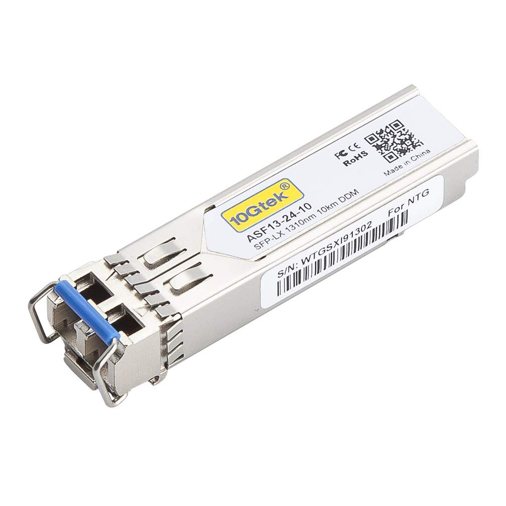 10Gtek for Netgear AGM731F, 1.25Gb/s SFP Transceiver, 850nm, 550m