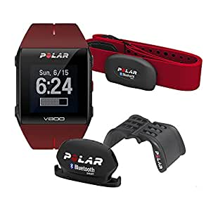 Polar The Javier Gomez Noya Special Edition V800 GPS Heart Rate Watch - Red