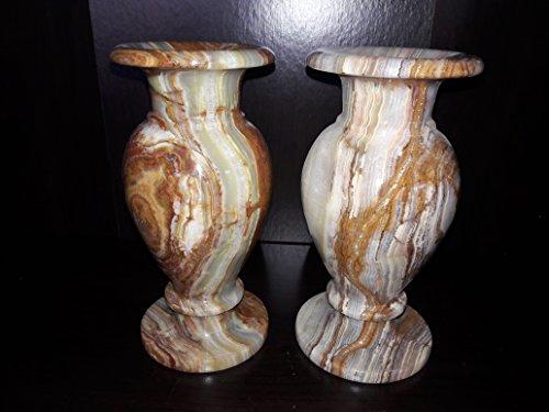 Onyx Vase (2@Flower Vase Onyx Marble 4