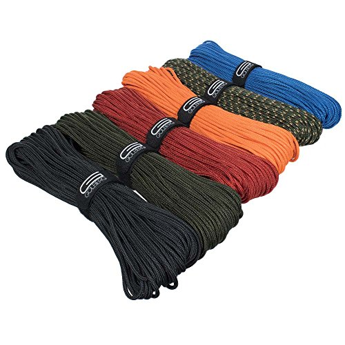 GOLBERG G Premium Polyester Accessory Cord - Utility Rope for Camping Necessities - Outdoor Essentials for Cargo Tie-Downs, Fishing, Boating, Nautical, Hunting, and Campers