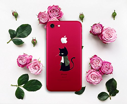 Funda iPhone 6/6S Vanki® Silicona TPU Carcasa Transparente Soft Case Cover Funda Blanda Flexible Carcasa Delgado Caja Anti Rasguños Anti Choque con para iPhone 6/6S-Coronas y diseños animales 7