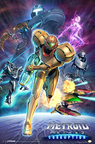 Metroid Prime 3 Corruption Video Gaming Poster 12x18 Picture