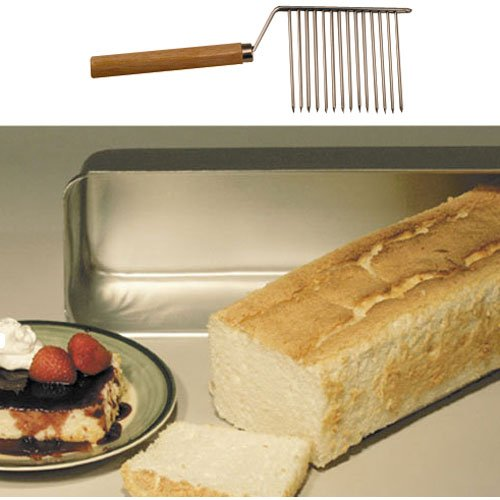 - Angel Food Cake Loaf Pan w/Cutter
