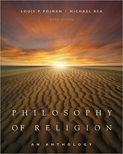 Book Philosophy of Religion: An Anthology by Louis P. Pojman (2007-03-22)