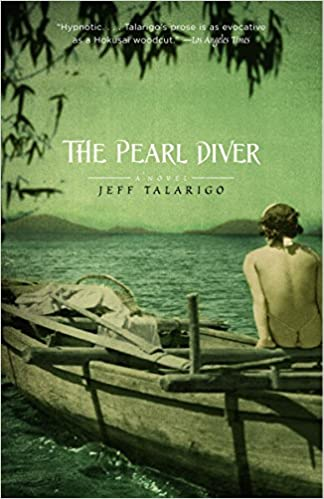 The pearl diver by julia johnson.
