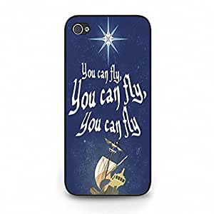 hipster Come away to Neverland fly to Neverland Phone Case Cover for Ihpone 5c Neverland Powerful