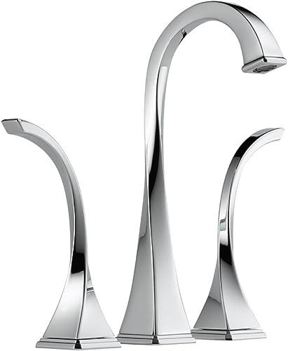 Brizo 65430LF-PC Virage Bathroom Faucet Vessel Double Handle Widespread with Metal Lever Handles, Chrome