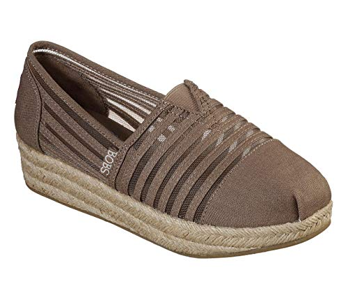 Skechers Women's Highlights-Nautical Nights Ballet Flat, Taupe 9 M US