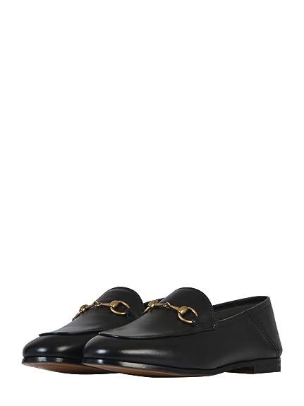 Gucci Femme 414998DLC001000 Noir Cuir Mocassins  Amazon.fr  Chaussures et  Sacs 8e970d82706