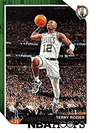 726796049 2018-19 NBA Hoops Basketball  146 Terry Rozier Boston Celtics Official  Trading Card made
