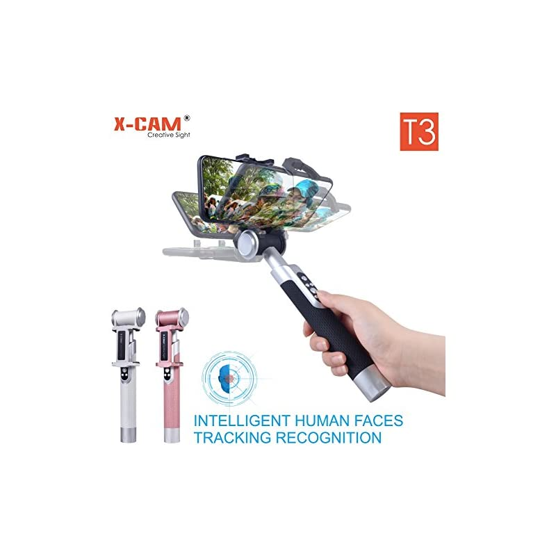 X-CAM T3 Selfie Stick with Face Tracking